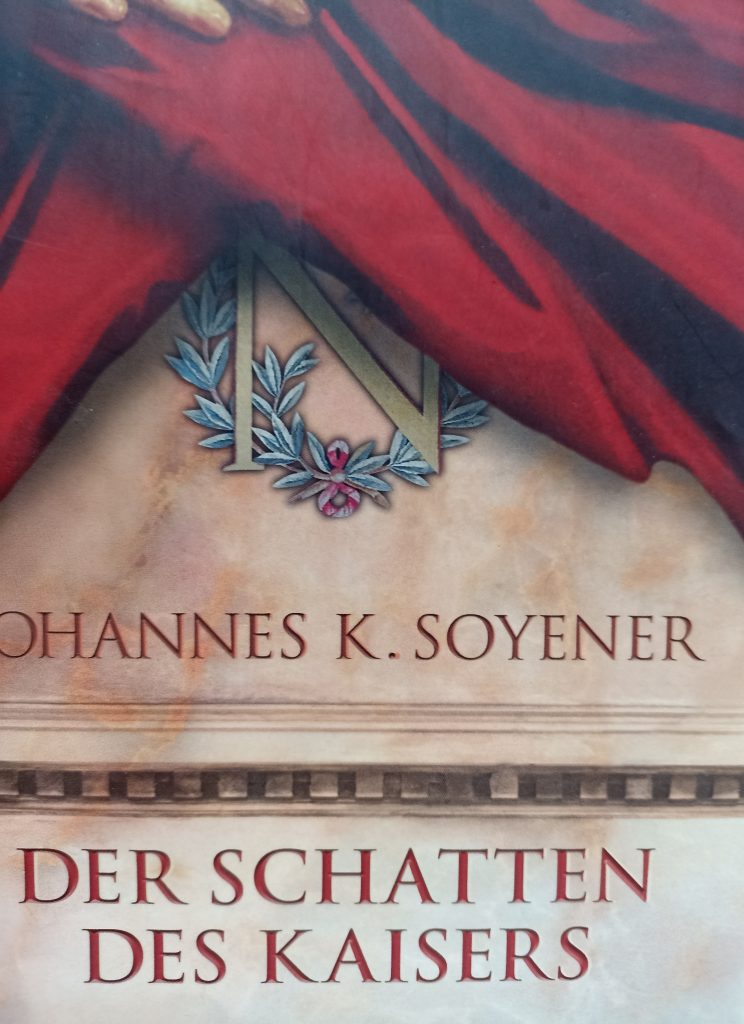 """8. Drittes Buch für meine Recherche: """"Der Schatten des Kaisers"""""""